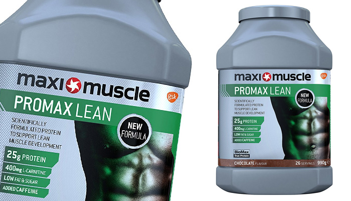 Maximuscle Promax Lean Protein Powder, Formulated to Build Lean Muscle